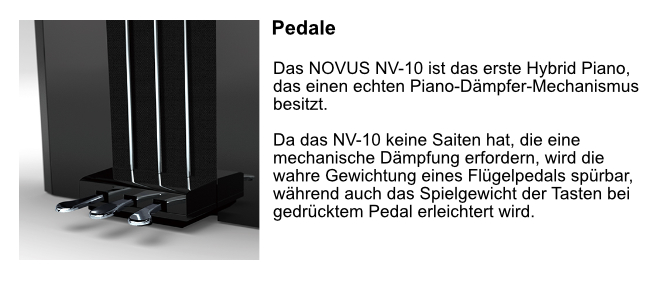 nv10 Pedale